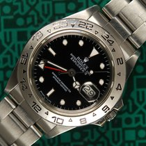 Rolex Explorer II 16550 black dial 1986