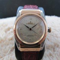 롤렉스 (Rolex) HOODED BUBBLEBACK 3065 2-Tone Pink Gold with...