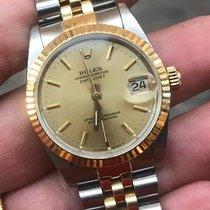 Rolex Medio Datejust oro gold acciaio 31 mm
