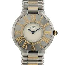 Cartier Must 21 en acier Vers 1991