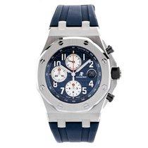 Audemars Piguet Royal Oak Offshore Chronograph blue dial blue...
