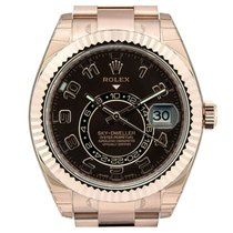 Rolex Sky-Dweller Rose Gold Chocolate Dial 326935