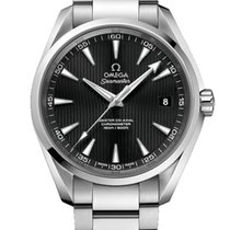 Omega Seamaster Aqua Terra 150M Co-Axial Master Black Dial...