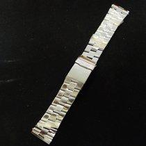 Breitling Super Avenger Pro Ii 24-20mm Bracelet 135a Stainless...