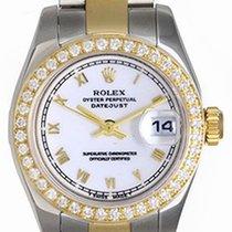 Rolex 2-Tone Ladies Datejust Steel & Gold Watch 179173...