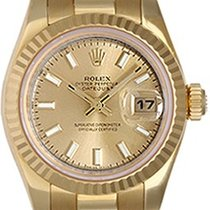 Rolex Ladies President 18K Gold Watch 179178 Champagne Dial