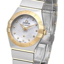 Omega Constellation Brushed Quarz Mini Pluma