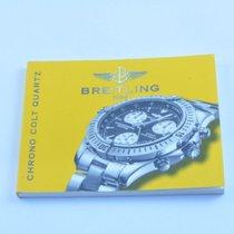 Breitling Anleitung Manual Colt Chrono Quartz Rar