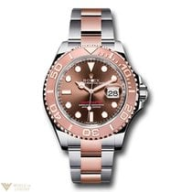 Rolex Oyster Perpetual Yacht-Master Stainless Steel & 18K...