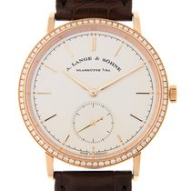 朗格 (A. Lange & Söhne) A Saxonia 18 K Rose Gold With...