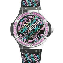 Hublot 343.SS.6599.NR.1233 Big Bang Broderie Sugar Skull Mens...