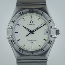 Omega Constellation, Mens, Stainless Steel, White Dial, Quartz