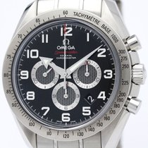 オメガ (Omega) Speedmaster Broad Arrow Steel Watch 321.10.44.50.0...