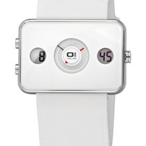The One Binary Digital+Analog Watch Turning Disc IP104-3WH Neu...