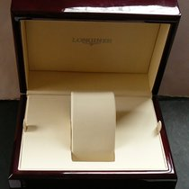 Longines wood box in Bordeaux red colour