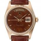 Rolex Day Date Gelbgold Automatik Armband Leder 36mm Ref.18038...