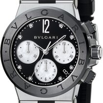 Bulgari Diagono Chronograph 37mm dg37bsbcvdch/8