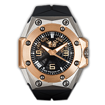 Λίντε Βέρντελιν (Linde Werdelin) Oktopus Double Date Rose Gold