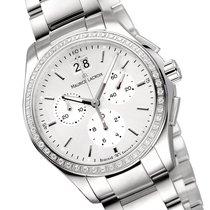 Maurice Lacroix Miros Chronograph Diamonds Damenuhr MI1057-SD5...