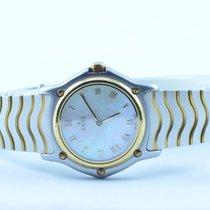 Ebel 1911 Damen Uhr Stahl/750 Gold 23mm Sport Classique Top...
