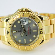 Rolex Yacht-Master 18kt Yellow Gold Slate Dial-168628