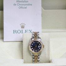 Rolex Ladies Datejust 179173 Diamond Dial 18K Yellow Gold...