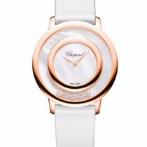 Chopard Happy Sport Icons 18K Rose Gold, Mother-Of-Pearl &...