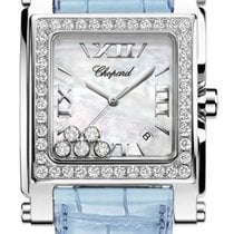 Chopard 288448-2001blue Happy Sport II XL in Steel with...