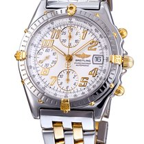 Breitling Two Tone Chronograph Automatic Watch B13050.1