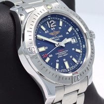 Breitling Colt A17388 44mm Blue Dial Automatic Men's Watch...