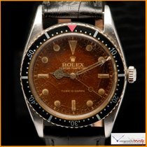 Rolex Turn O Graph Gilt Tropical Brown Dial