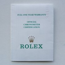 Rolex Libretto / Booklet per Explorer II ref. 16570