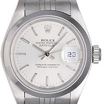 Rolex Ladies Date Watch Stainless Steel 79160 Silver Dial