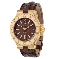 Bulgari Bvlgari Diagono 18K Solid Rose Gold