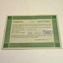 勞力士 (Rolex) Warranty Certificate Ref: 1016