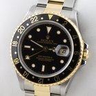 Rolex GMT Master II Stahl Gold 16713 Papiere 2001
