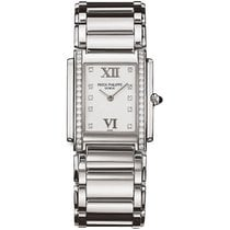 Patek Philippe TWENTY-4 Medium Stainless Steel with Diamonds