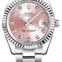 Rolex Datejust 31mm Stainless Steel 178274 Pink Diamond Oyster