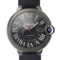 Cartier Ballon Bleu Stainless Steel Black Automatic WSBB0015