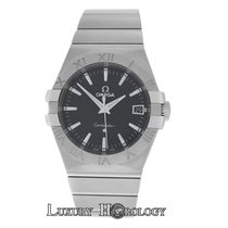 Omega Mint Mens  Constellation 123.10.35.60.01.001 Steel Date
