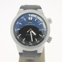 IWC GST Aquatimer Steel BlackDial (B&P2007) 42mm MINT