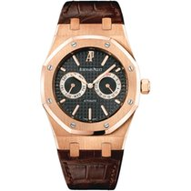 Audemars Piguet Royal Oak 39 Rose Gold Leather Strap Discontinued
