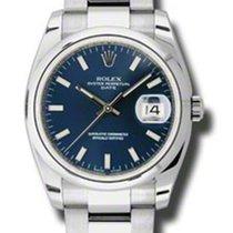 Rolex Date 34mm Domed Bezel - Oyster Bracelet