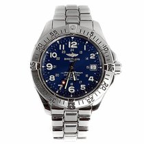 Breitling Superocean Blue Dial Watch A1736011 (Pre-Owned)