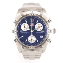 TAG Heuer Chronograph CK1110-0 blue dial