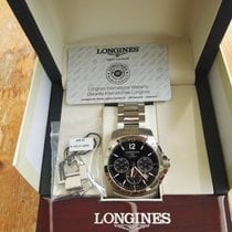 Longines Conquest  Steel 2016 Black Dial 41mm