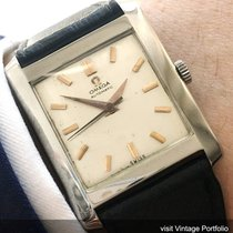 Omega Art Deco Omega watch with linen dial