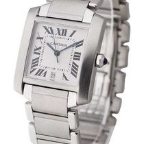 Cartier W5100203 Tank Francaise - Large Size in Stainless...