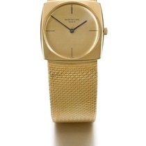 Patek Philippe | A Yellow Gold Cushion-form Bracelet Watch Ref...