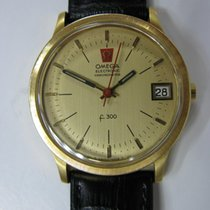 Omega Electronic Chronometer 18k C1974 Vintage Watch Super Rare